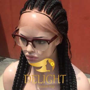 Braided Wigs Full Lace With Baby Hair- Posh