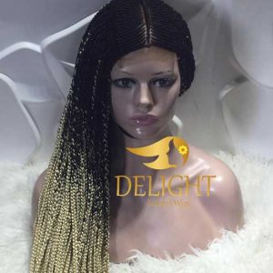 Full Lace Braided Wig -Titi