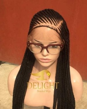 Full Lace Braided Wig color -Toyin