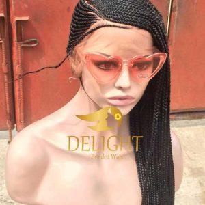 Full Lace Lemonade Braided Wig – Funmi