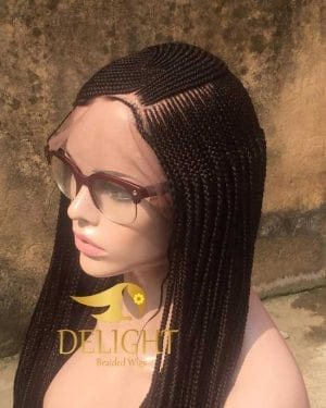 Full Lace Braided Wig – Dupe