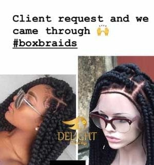 Box Braid wigs- Jare