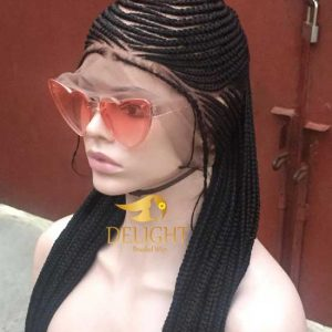 Braided Wigs Full Lace With Baby Hair- Michelle