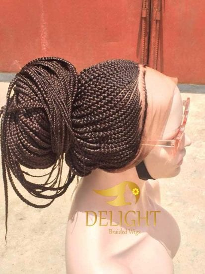 Braided Wigs Full Lace With Baby Hair Lexy Delight