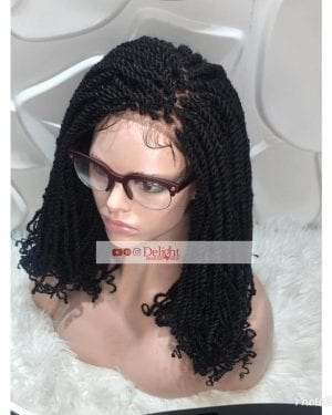 Kinky Twist Braided Wig- Anu