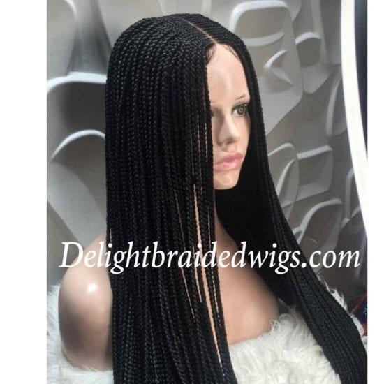 Box braids wig