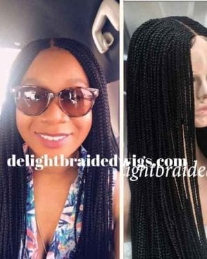 Handmade Box Braid Wig-Mary- Kimmy