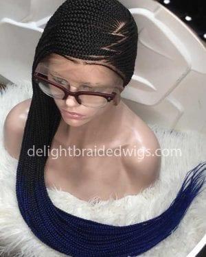 Ready to Ship Full Lace Lemonade Braided Wig -Jess