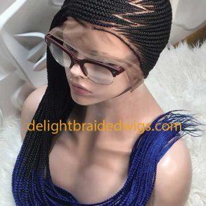 Full Lace Lemonade Braided Wig -JENIFA