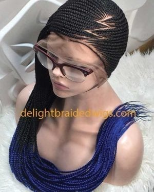Full Lace Lemonade Braided Wig -JENIFA