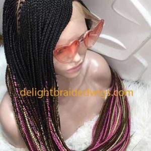 Lace Braided Wig C-cut -Kore