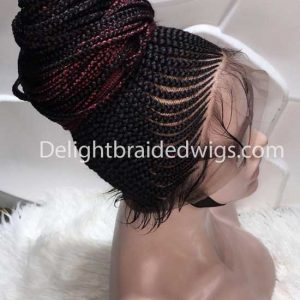 Braided Wigs Full Lace With Baby Hair- Amaka