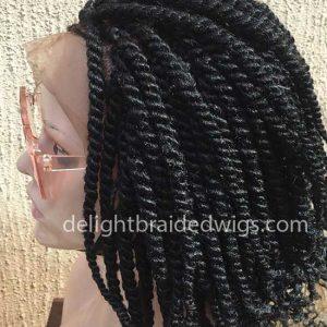 Kinky Twist Braided Wig-Tosin