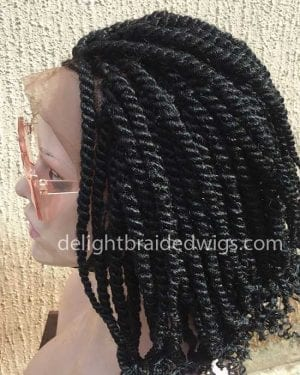 Kinky Twist Braided Wig-Tosin