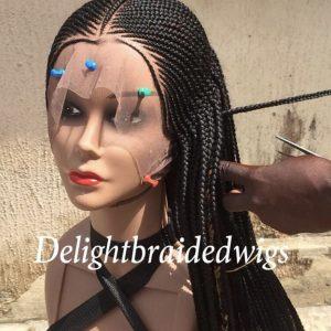 Handmade Lace Braided Wig tribal- Nancy