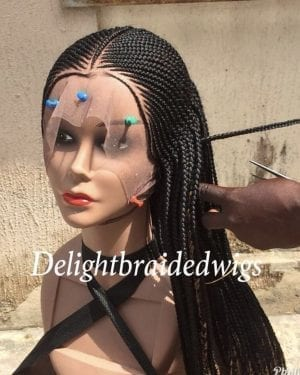 Handmade Lace Braided Wig tribal- Nancy