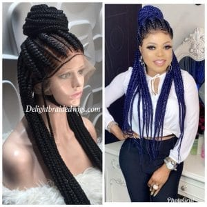 Braided Wigs Full Lace With Baby Hair- Anike