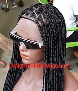 Knotless Box Braid Wig-Mary