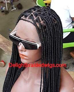 knotless-triangle-braids