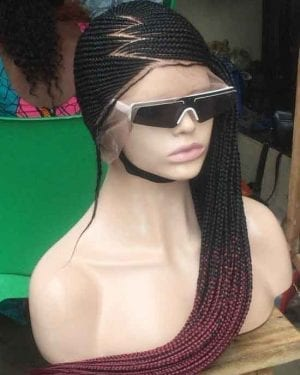 Ready to Ship Full Lace Lemonade Braided Wig -Jess