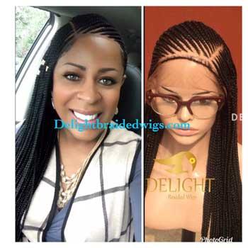 Ghana/Cornrow Braids (Full Lace Wig)