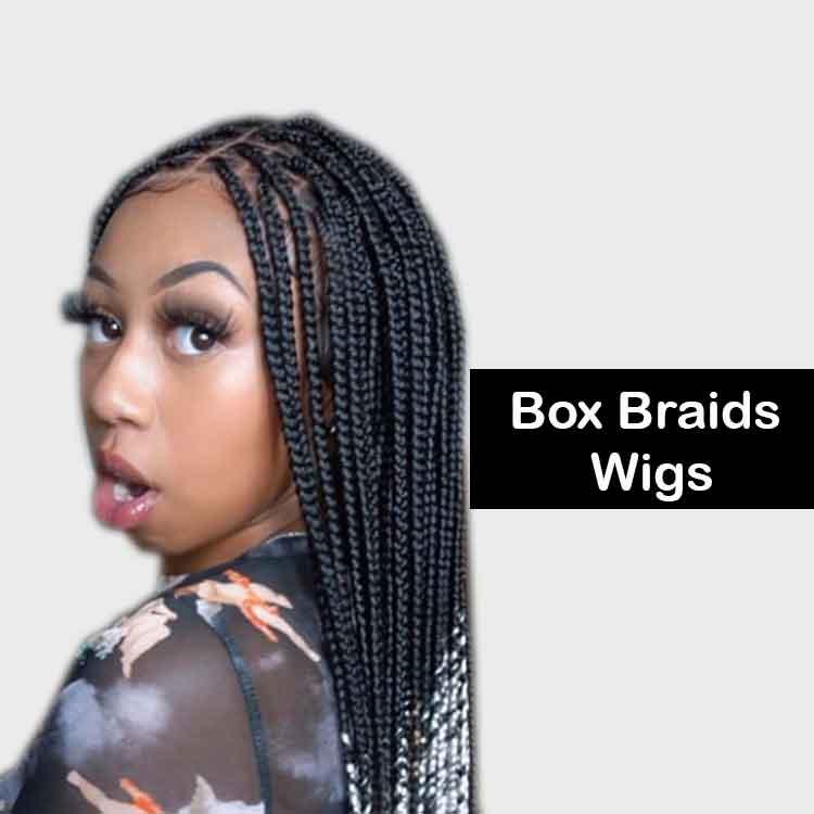 Box Braid Wigs