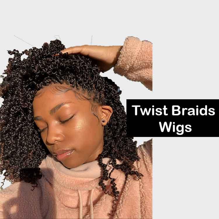 Spring Twist Braids Wigs