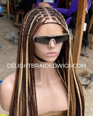 Knotless Box Braids Wig Mary- 5 Color Mix