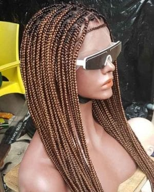 Ready to ship Knotless Box Braids Wig Mary mix of color 30 n 33